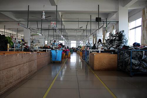 Nan'an Jinsheng Bags Co., Ltd. production line 1