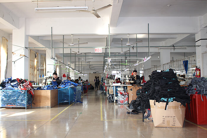 Nan'an Jinsheng Bags Co., Ltd. production line 4