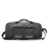 Wheeled Rolling Luggage Travel Duffle Bag With Telescoping Handle