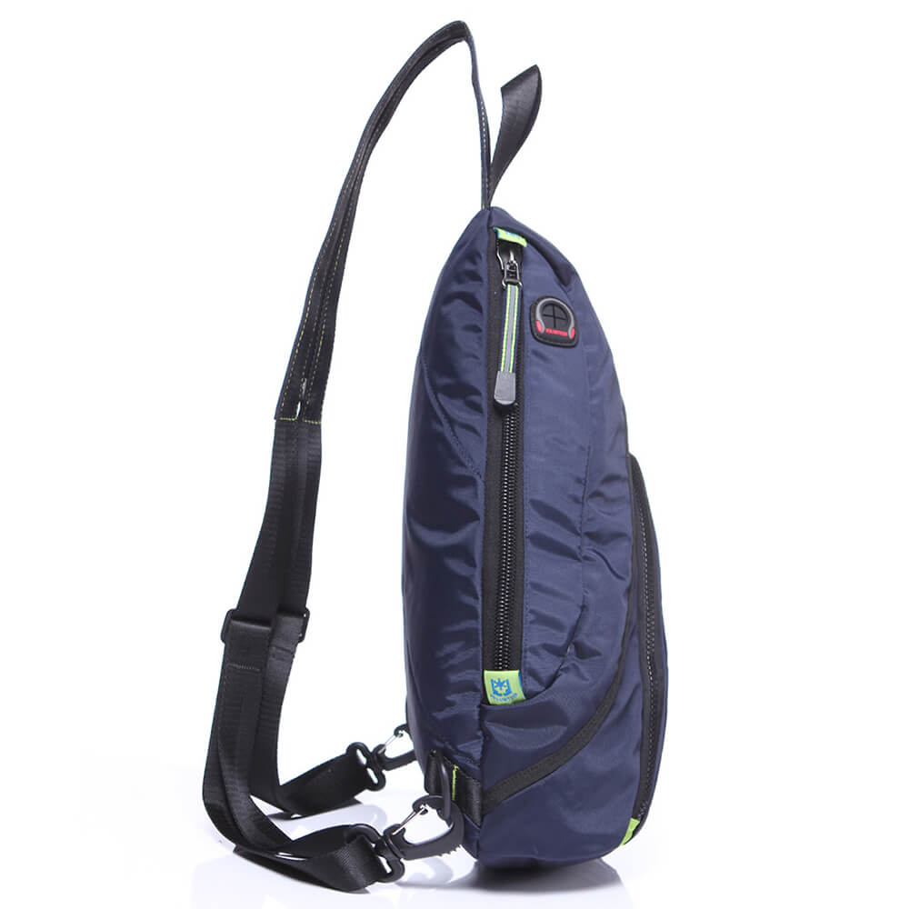Men's chest bag multi-functional single shoulder cross body water drop bag
