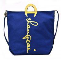 logo printed canvas bag tote bag shopping bag