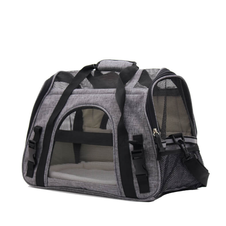 Pet Carrier Airline Approved Premium Under Seat Compatibility for Dogs and Cats
