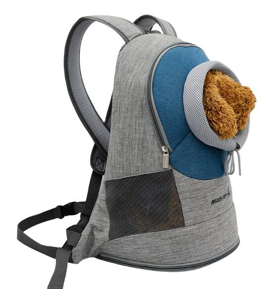 Pet backpack dog outdoor carry bag and backpack for cat