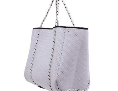 Simple hollow bags women tote bags lightweight shoulder bags supplier