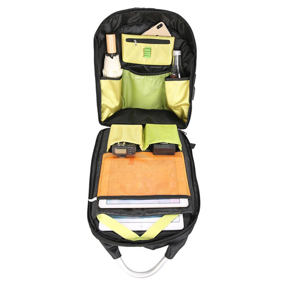 Anti-theft backpack supplier wholesale backpack with safe lock-3