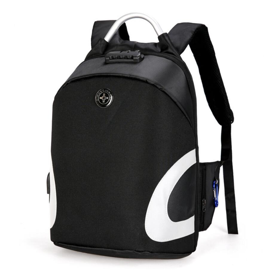 Anti-theft backpack supplier wholesale backpack with safe lock-4