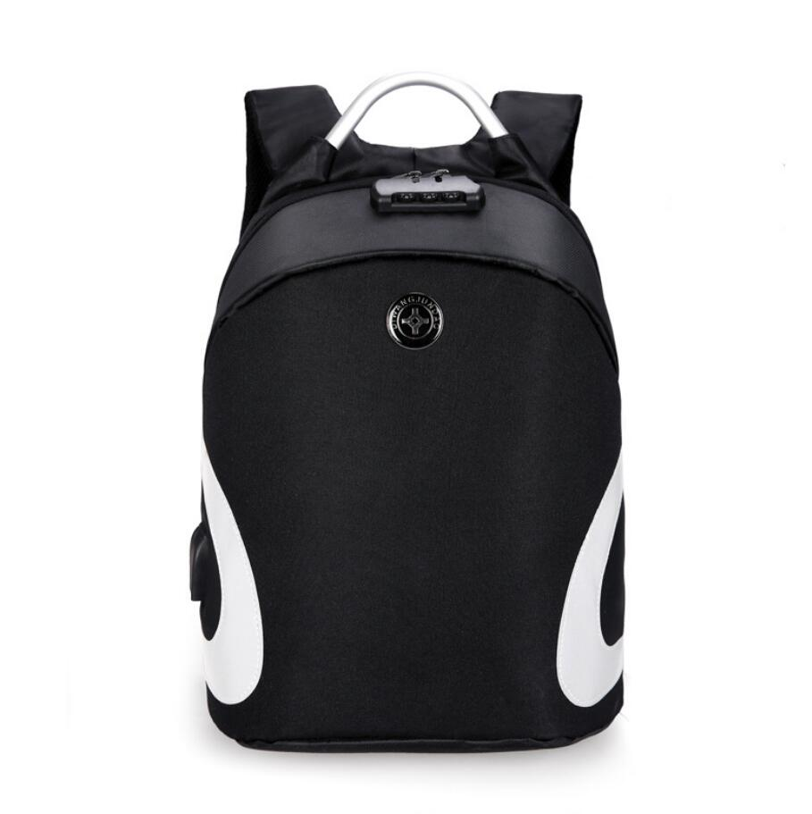 Anti-theft backpack supplier wholesale backpack with safe lock