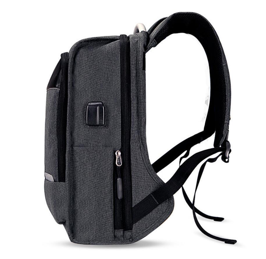 Lightweight black Laptop Backpacks 15.6 inch manufacturer-3