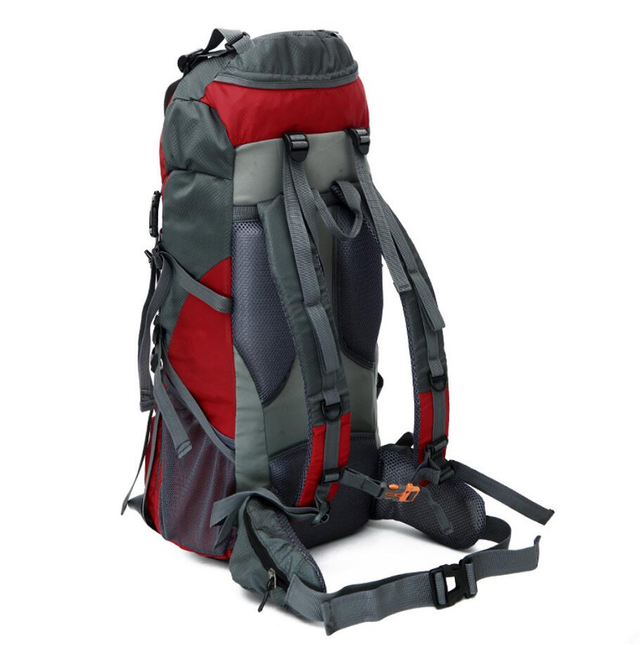 2019 new design large-capacity 65+5L waterproof nylon hiking sports backpack-2