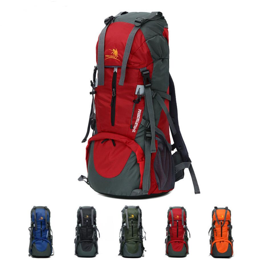 2019 new design large-capacity 65+5L waterproof nylon hiking sports backpack-3