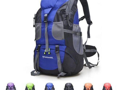 Custom travel backpack sports bag