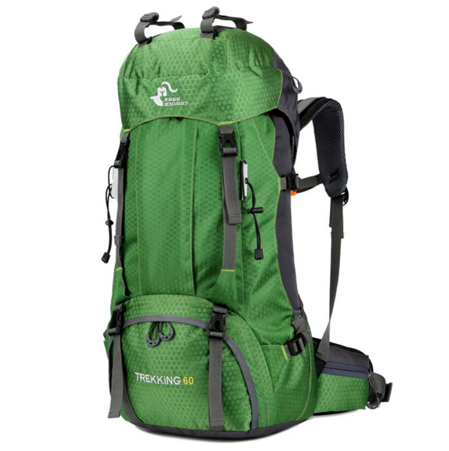 Large capacity 60L backpack outdoor hiking bag with rain cover-4