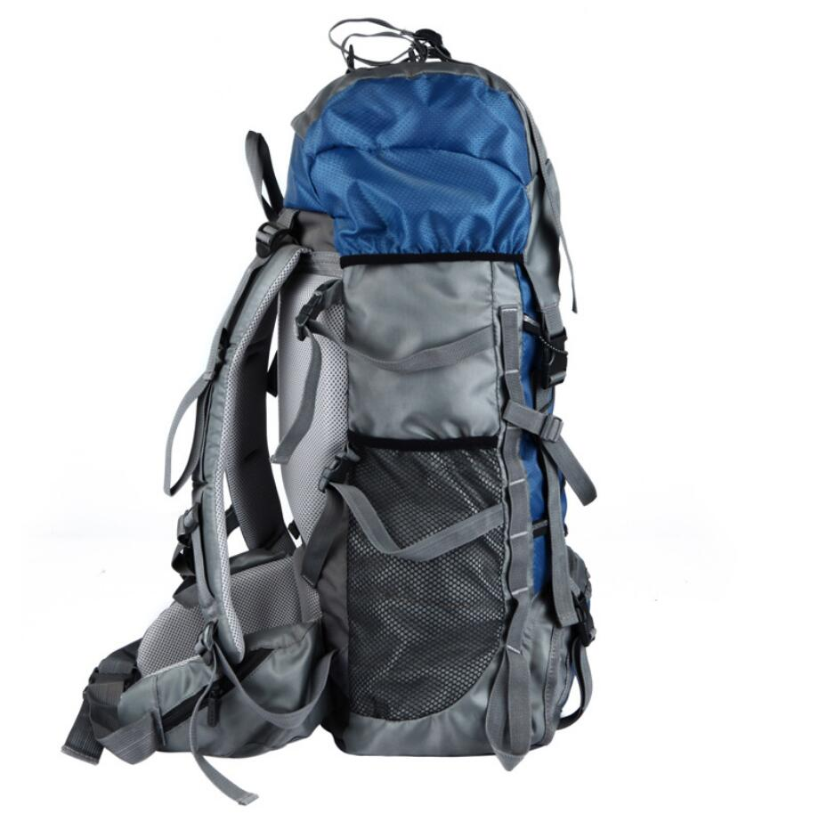 Manufacturer wholesale custom 60L outdoor sports bag waterproof mountaineering bag-1