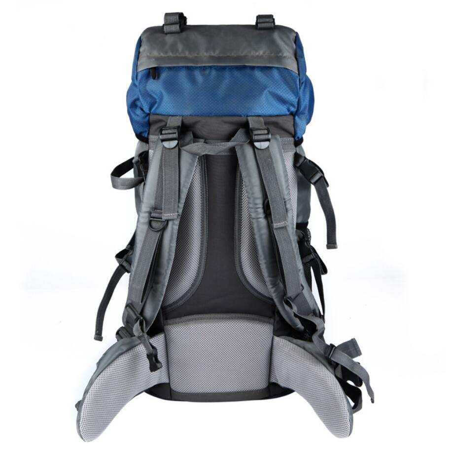 Manufacturer wholesale custom 60L outdoor sports bag waterproof mountaineering bag-2