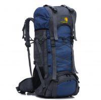 Manufacturer wholesale custom 60L outdoor sports bag waterproof mountaineering bag