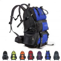 Manufacturers direct sell 50L waterproof outdoor hiking bag large capacity sports bag factory