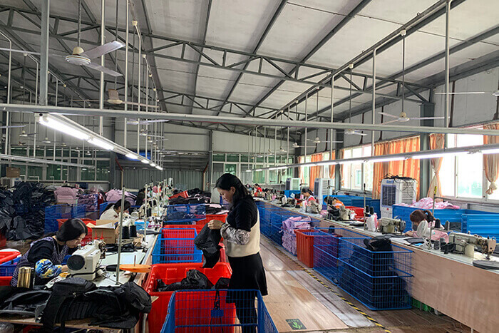 bags factory production line 3