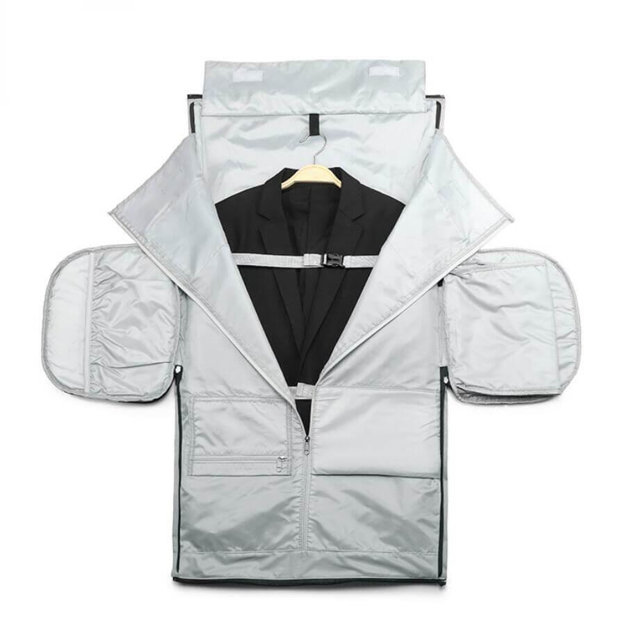 customized garment duffle bag