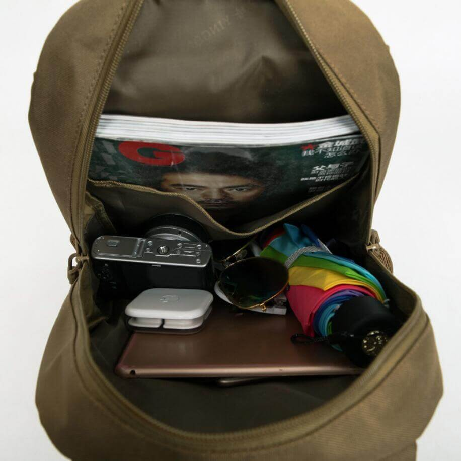 camo backpack china
