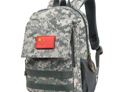 Camo backpack manufacturer China