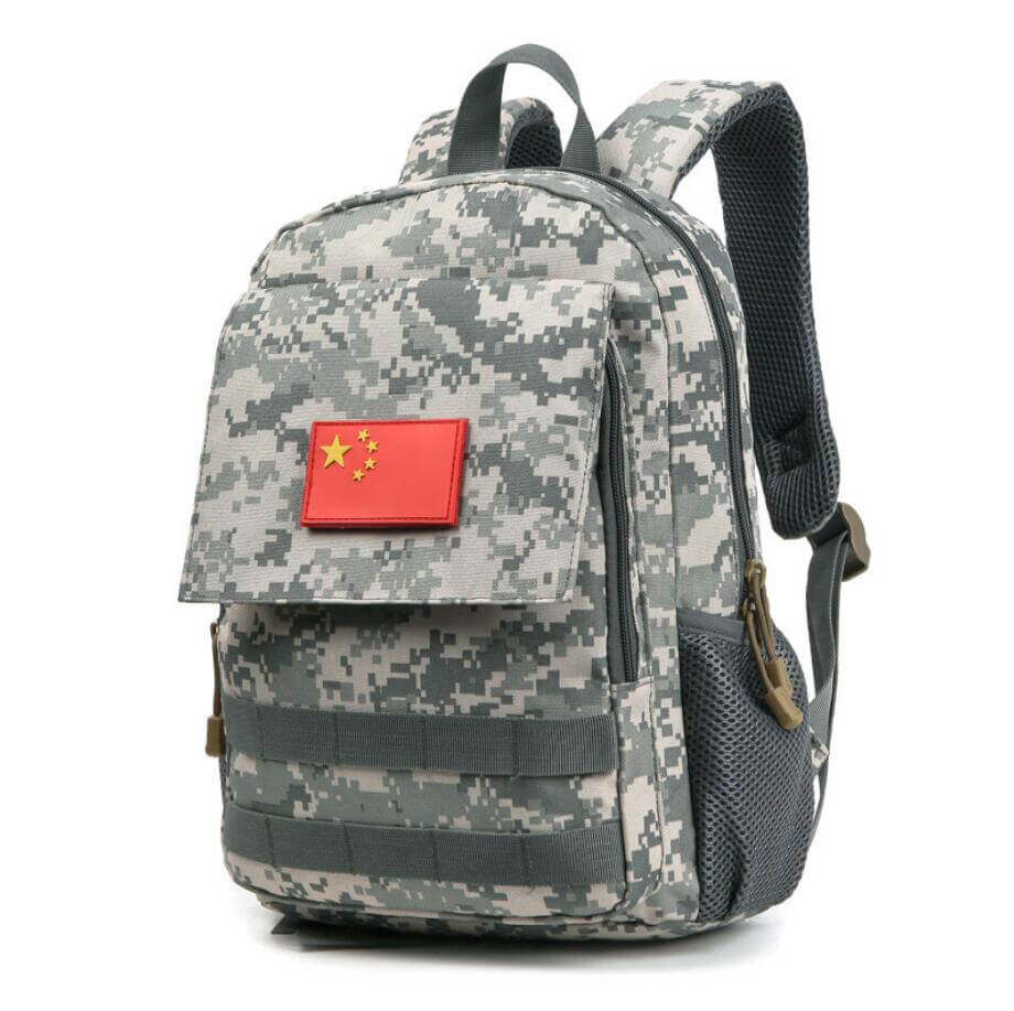 camo backpack factory