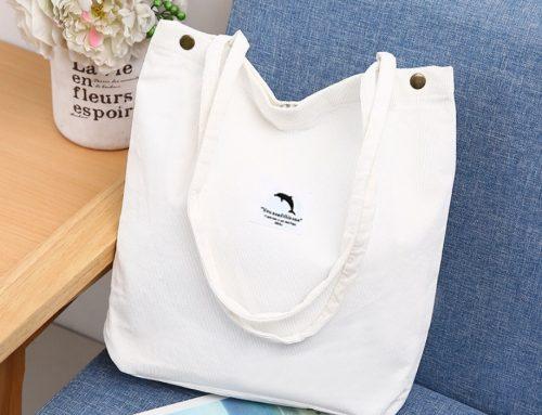 Corduroy Tote Bag Manufacturer