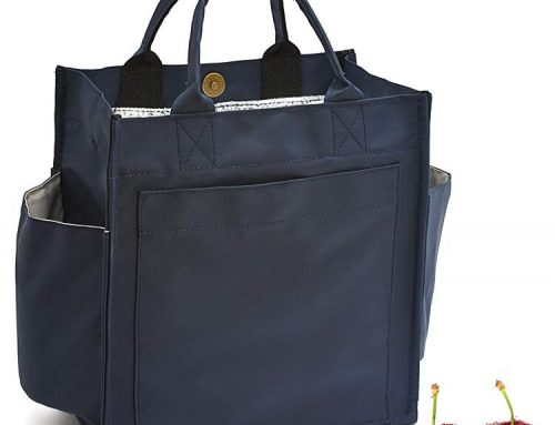 Wholesales Wide-Open Lunch Tote Box